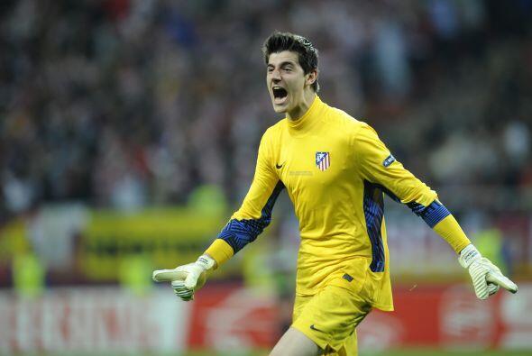 Thibaut Courtois del Atlético de Madrid. En realidad, este porter...