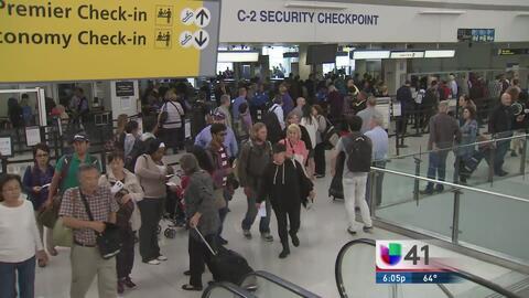 Agilizarán seguridad en el aeropuerto de Newark