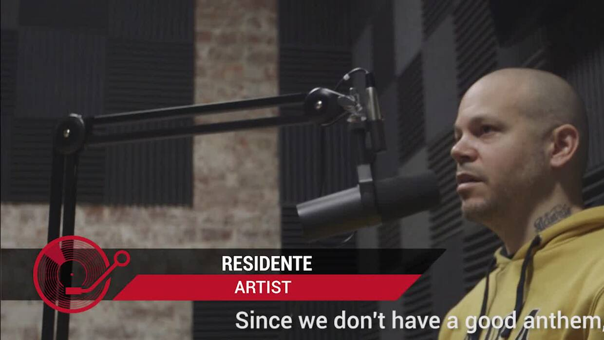 "Residente thinks Puerto Rico's anthem ""sucks"" so he wrote a song ""that I..."