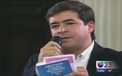Encarcelan al opositor venezolano Daniel Ceballos