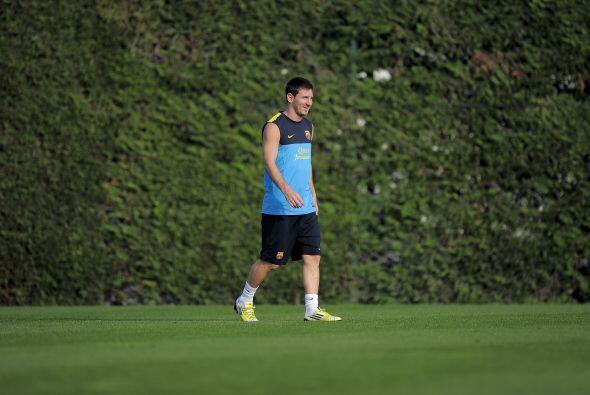 Desde el inicio de esta pretemporada, Lionel Messi ha estado con el grup...