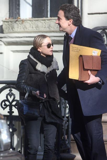 Contrario al caso de muchas mujeres, Marie Kate Olsen, la multimillonari...