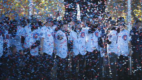 Albert Almora y Willson Contreras recuerdan cómo saborearon la victoria...