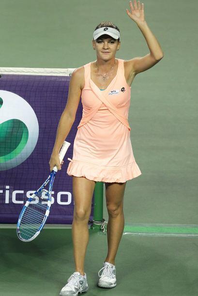 La polaca Agnieska Radwanska alcanzó su pase a la final del torne...