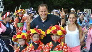 El Gordo también ha disfrutado unas merecidas vacaciones en Japón.