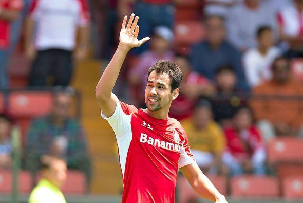 Otro que tiene cuatro tantos hasta el momento es el paraguayo Pablo Vel&...