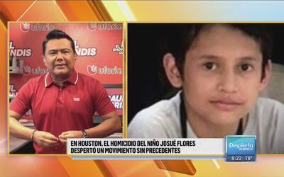 Houston se une por el homicidio del niño Josué Flores