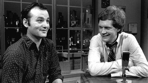 David Letterman y Bill Murray