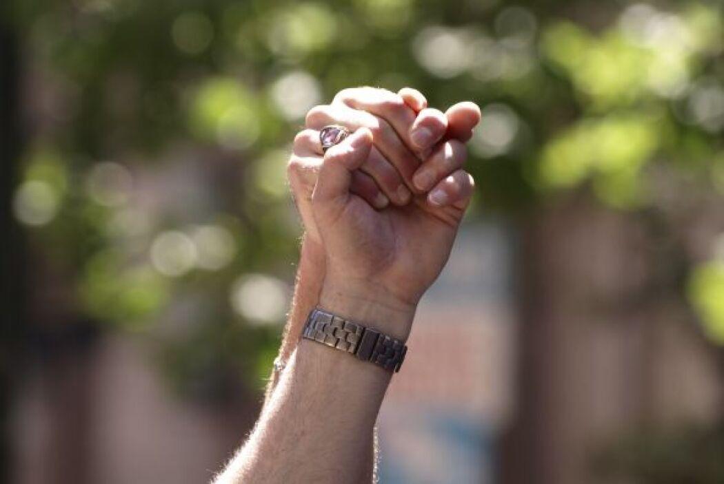 El 34 por ciento favorecía las uniones civiles para homosexuales