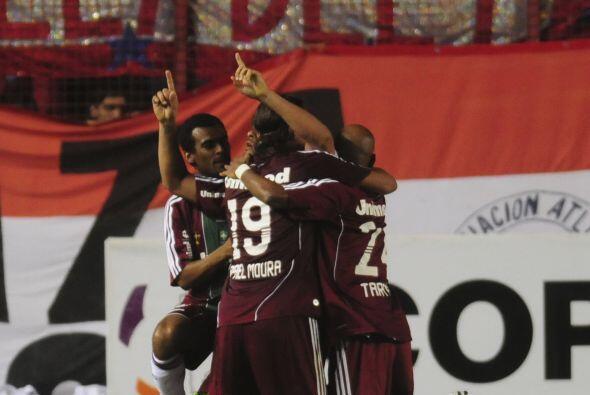 Los goles del equipo ganador fueron anotados por Julio César, Mouras y F...