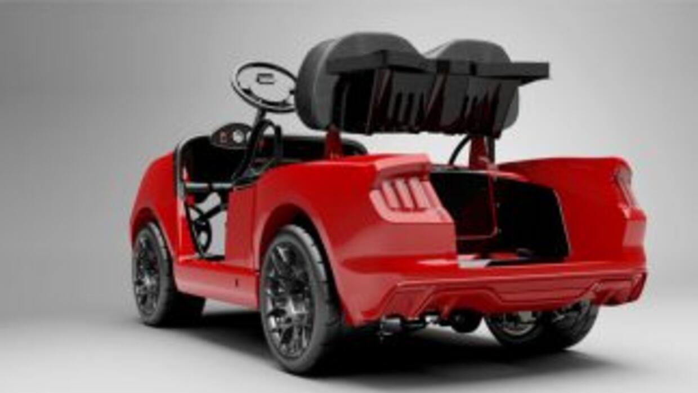 Carrito de golf Ford Mustang