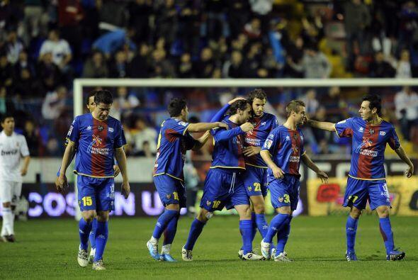 Xisco abrió el marcador en favor del Levante.