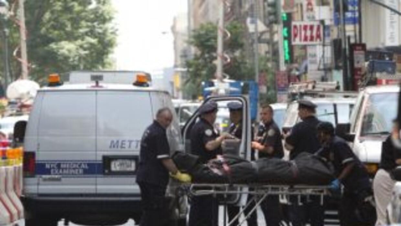 Imágenes del tiroteo en Empire State Nueva York