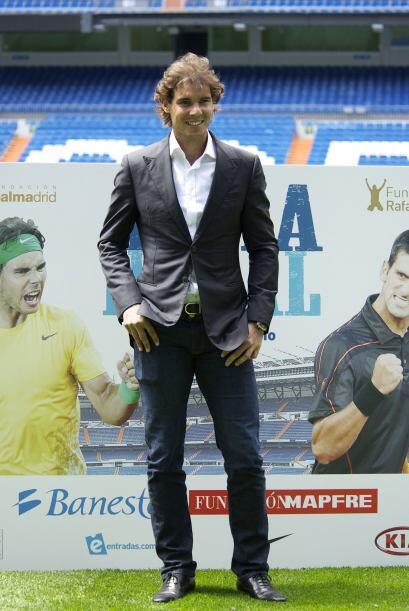 """Rafael Nadal, número dos de la ATP, señaló que se considera """"un privileg..."""
