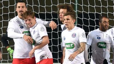 Ibrahimovic,Chantome y Moura dieron forma al resultado final.