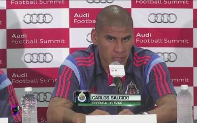 """Carlos Salcido: """"Vamos a sacarle provecho al partido contra el Bayern"""""""