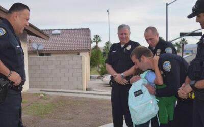 Varios policías sorprendieron a la hija de un uniformado asesinado en Pa...