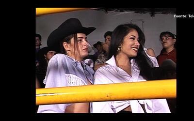 Selena Quintanilla compartió escenas con el grupo Bronco en la telenovel...