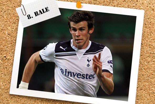 Con todo y la derrota de su club, Tottenham, Gareth Bale fue el jugador...