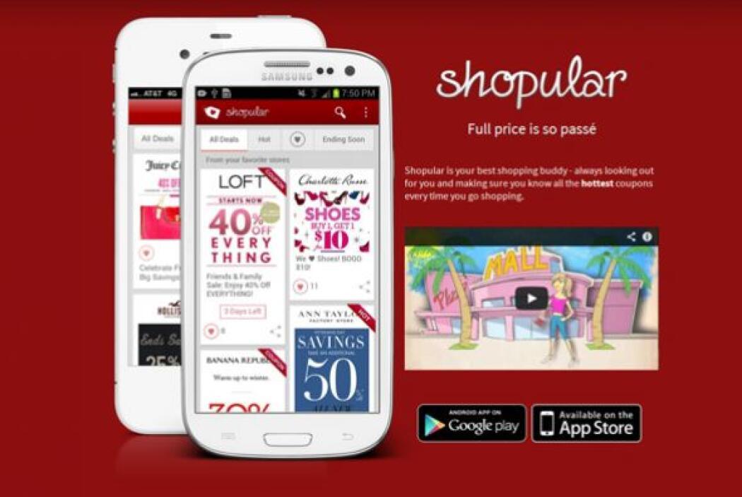 Cupones electrónicos de Shopular (shopularapp.com)  Calificación de CR:...