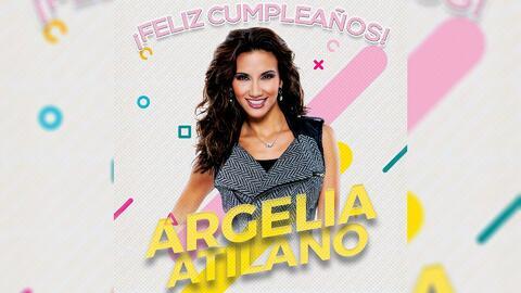 Feliz Cumpleaños Argelia Atilano