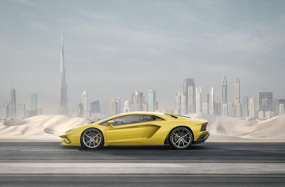 Este es el nuevo Lamborghini Aventador S