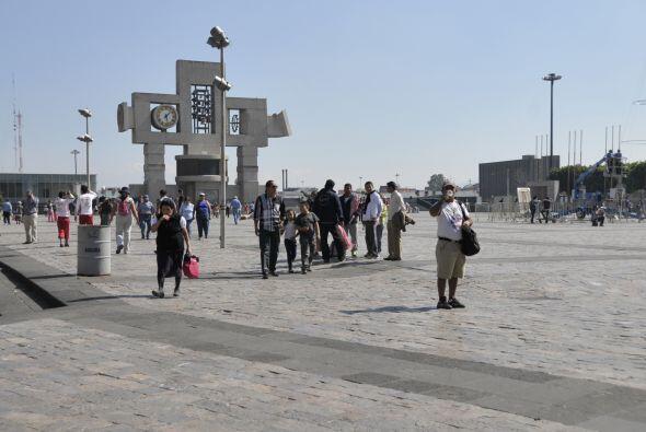 Las apariciones se representan con figuras robóticas. Así chicos y grand...