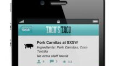 Taco's Taco es una nueva app para encontrar las mejores taquerías.
