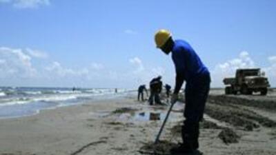 Sólo se recuperará una pequeña parte del petróleo en el Golfo de México...
