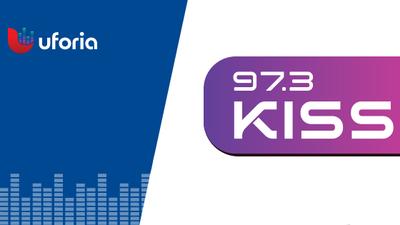 KISS 97.3 Logo