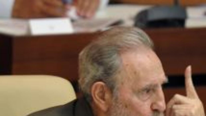 Fidel Castro, ex presidente de Cuba.