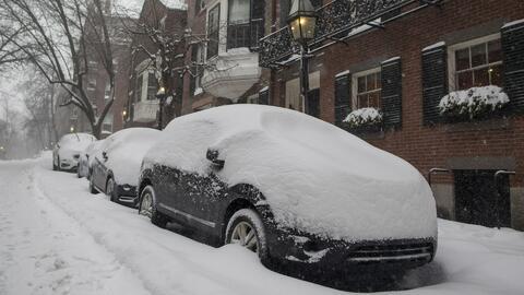 Nueva Inglaterra amanece en alerta ante la presencia de la tormenta inve...