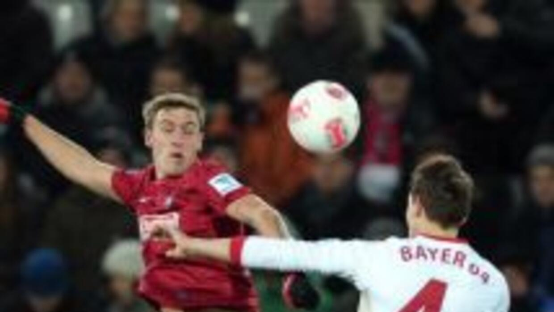 Leverkusen y Friburgo empataron en la Bundesliga.