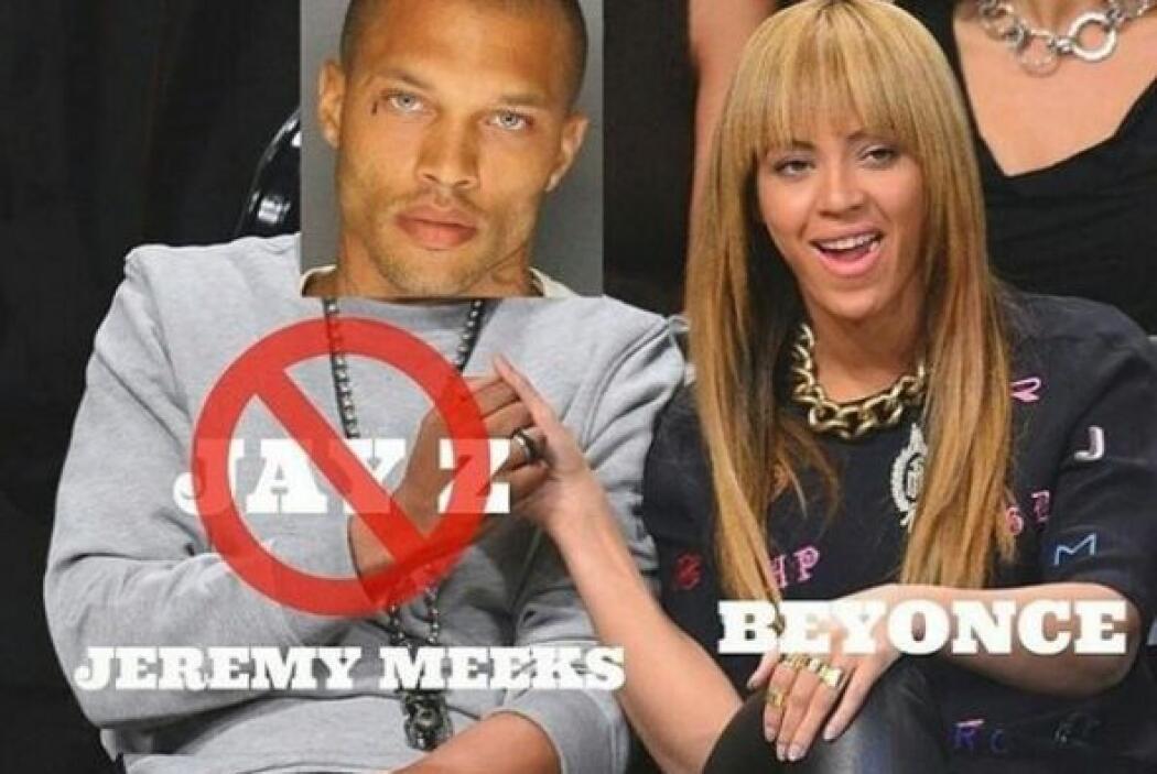 Hasta la cantante Beyonce, en las memes, presume una cita con Jeremy.
