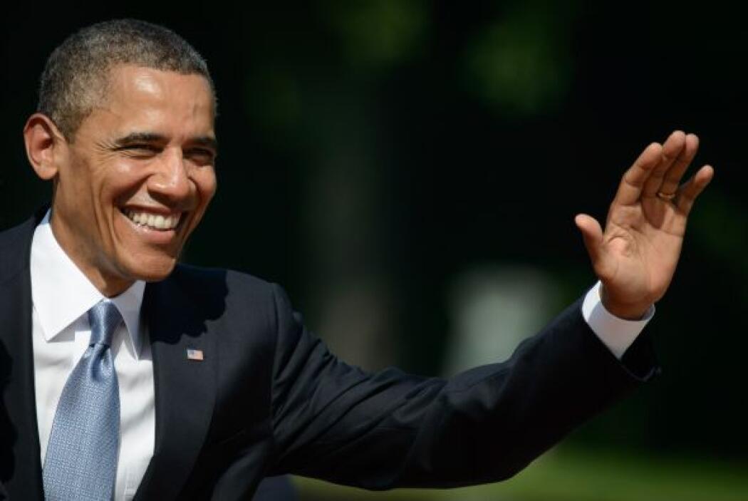 El Washington Post recordó que en su visita de 2008 a Alemania Obama reu...