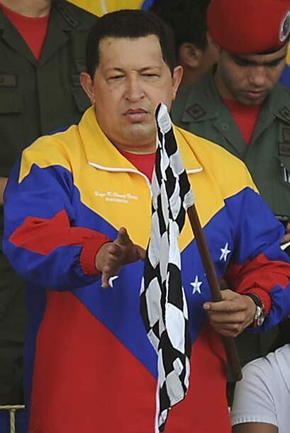 El presidente Chávez nombró campeón de manera anticipada a Maldonado.