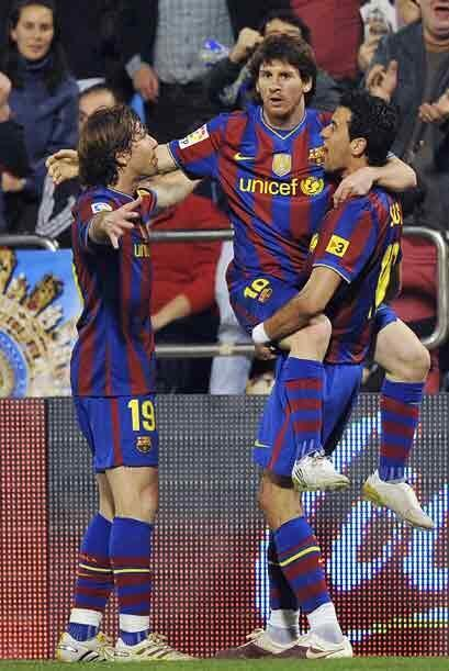 Sabiendo que debían ganar para seguir a la par del Real Madrid, los 'bla...