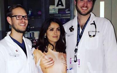 """Salma anotó: """"Me tuvieron que llevar a emergencias por un golpe en la ca..."""