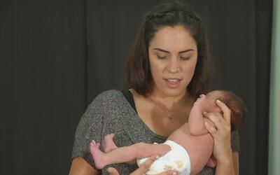 """La """"encantadora de bebés"""", una fotógrafa que consigue calmar a los recié..."""