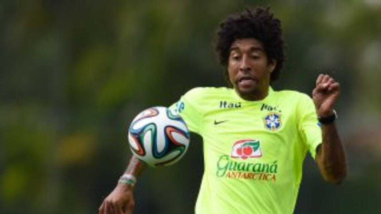 Dante, defensa de la selección brasilera de Fútbol y del club Bayern de...