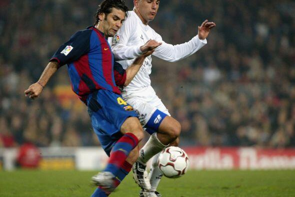 Rafael Márquez hizo su debut con el equipo catalán el 3 de...