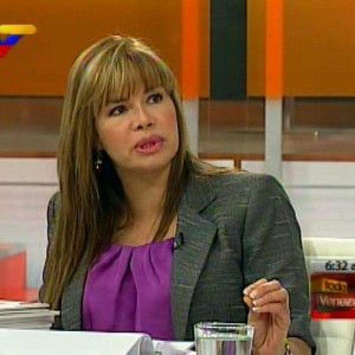 Elsa Gutiérrez Graffe. Capitán de Navío y actual ministra de Transporte...