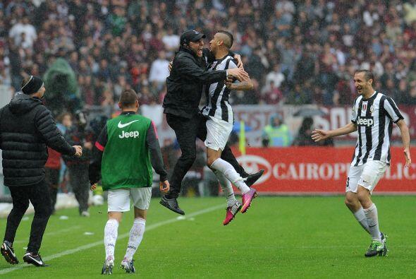El jugador de la Juventus sacó de apuros a su equipo cuando la 'V...