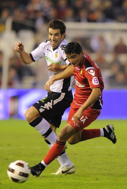 El uruguayo 'Chori' Castro con su velocidad fue el gran desequilibrador...