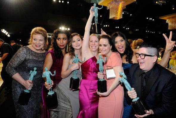 Las chicas de 'Orange is the New Black' no podían estar más encantadas c...