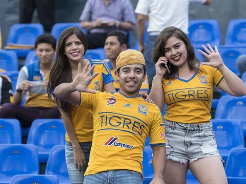 Tigres es el actual campeón del fútbol mexicano y su afici...