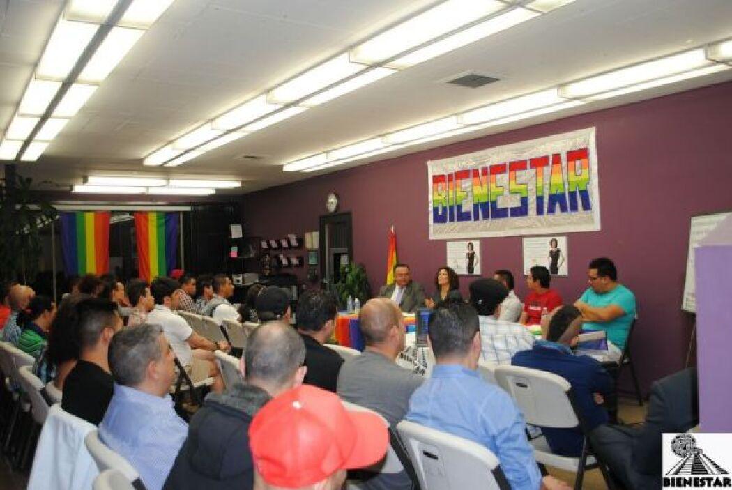La discriminación contra dichos grupos no es un problema de su misma com...