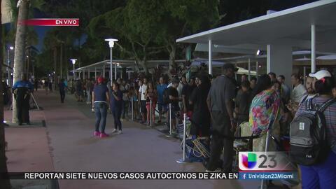 Miami amanece con la fiebre del nuevo iPhone 7