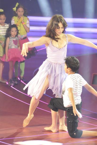 La gran experiencia de Bianca Marroquín se notó a la hora de bailar, ¡es...