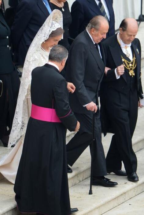Los reyes de España, Juan Carlos y Sofía, asistieron a la canonización d...